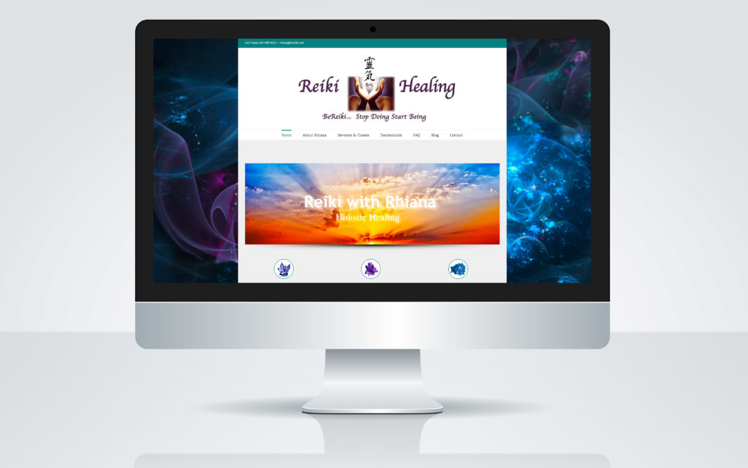 Be Reiki Web Design
