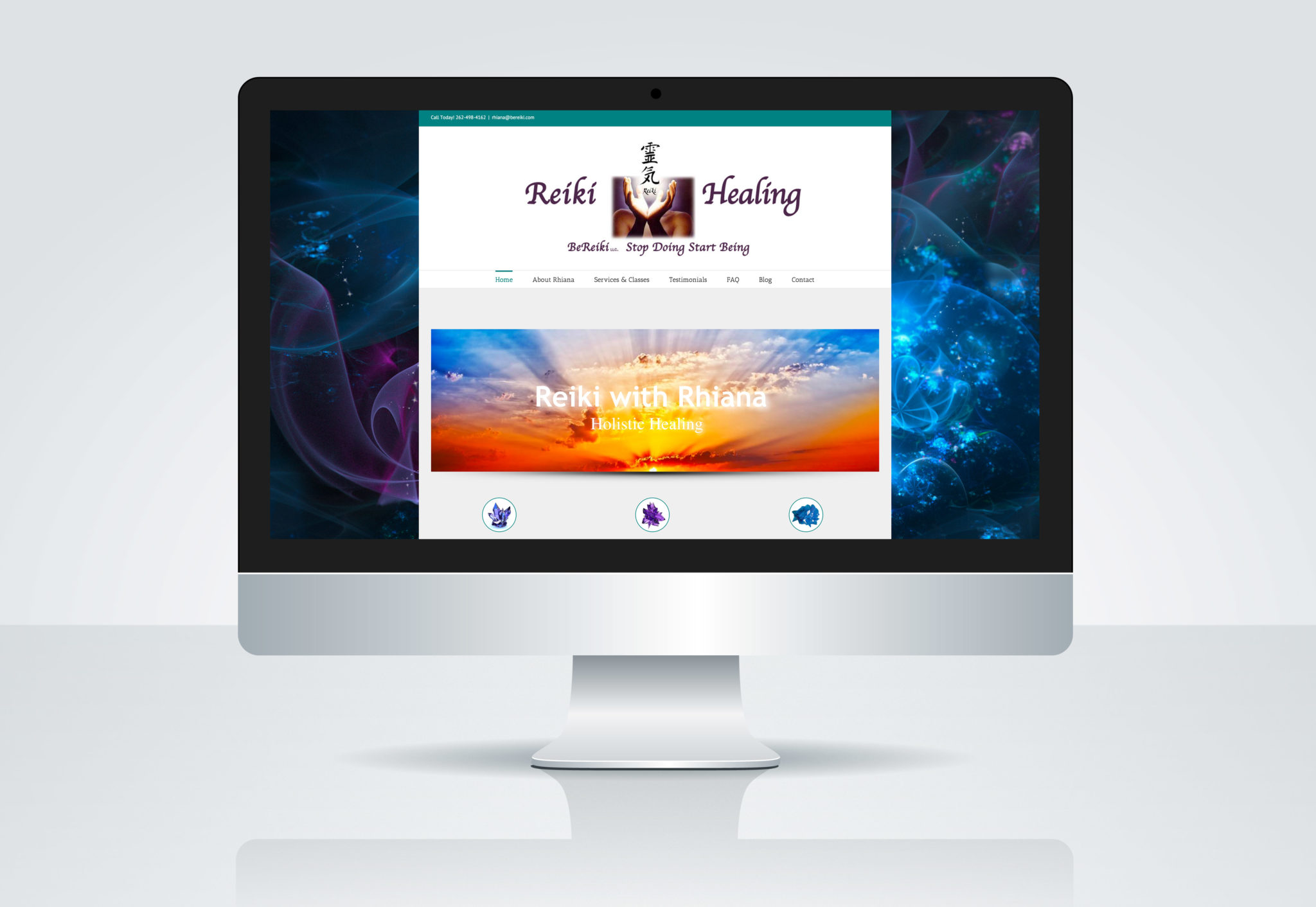 Reiki Website