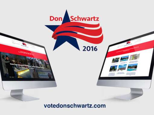 Political Campaign Landing Page