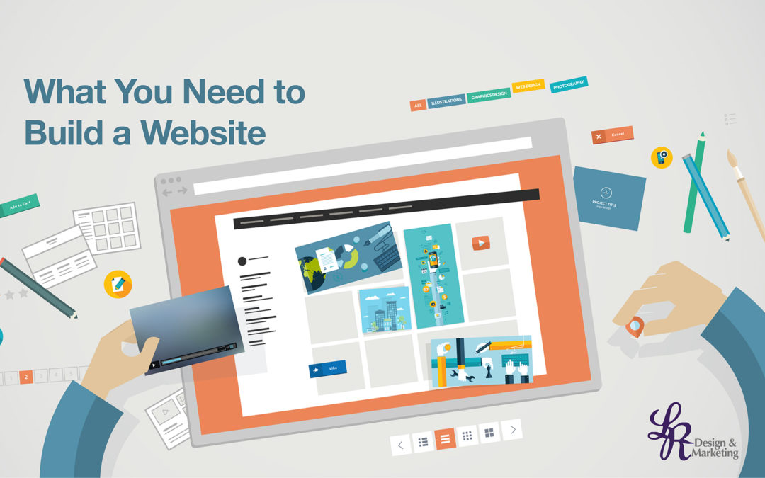 What you need to build a website lr design Build easy website