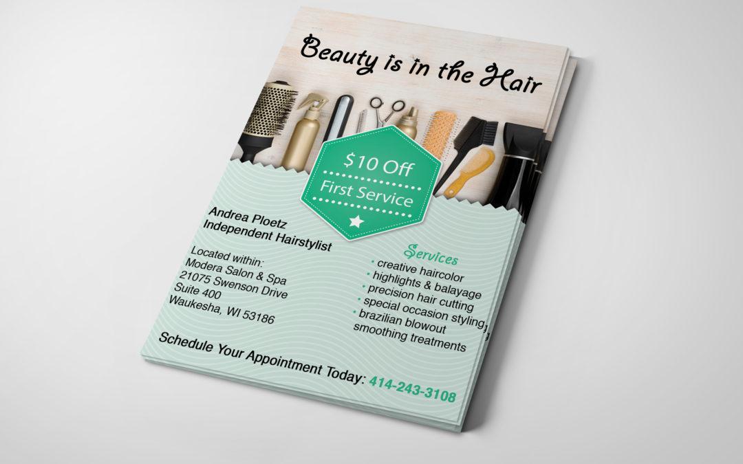 Hairstylist Advertisement