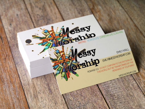 Branding for Messy Worship