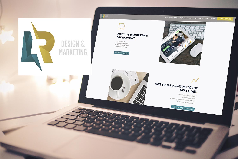 new brand and website release lr design