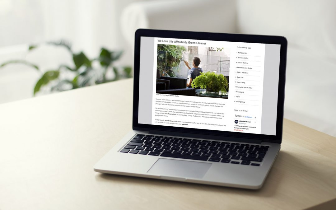 SEO Writing for Apartment Rentals