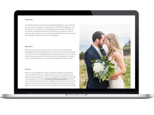 SEO Writing Project Wedding Site