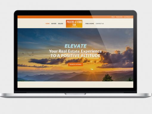 Positive Altitude Realty Web Design