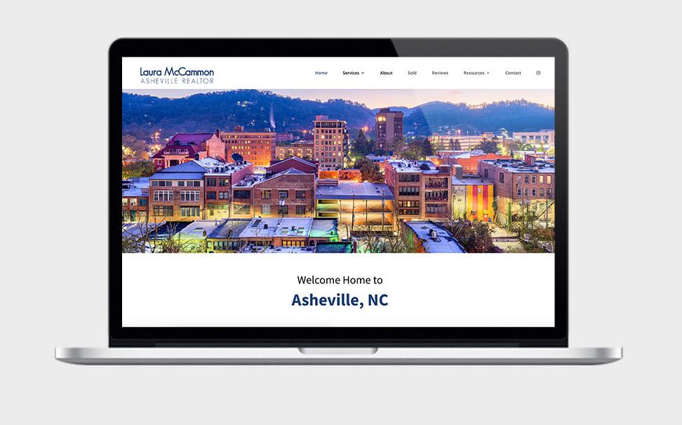 Asheville realtor Web design