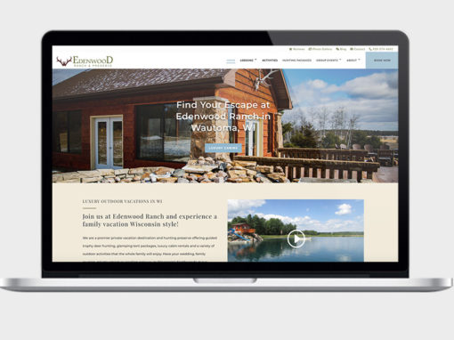Vacation Ranch Web Design and SEO