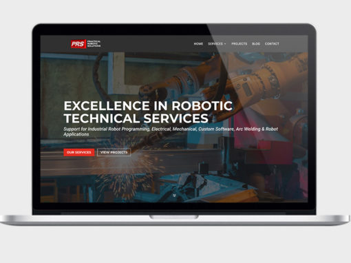 Robotic Automation Web Design