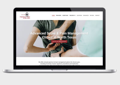 North Texas Spine Website