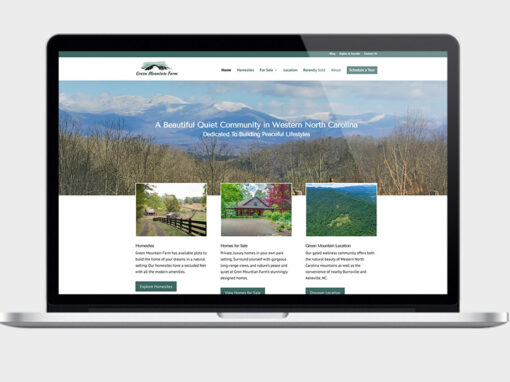 Web Design & SEO For Green Mountain Farm