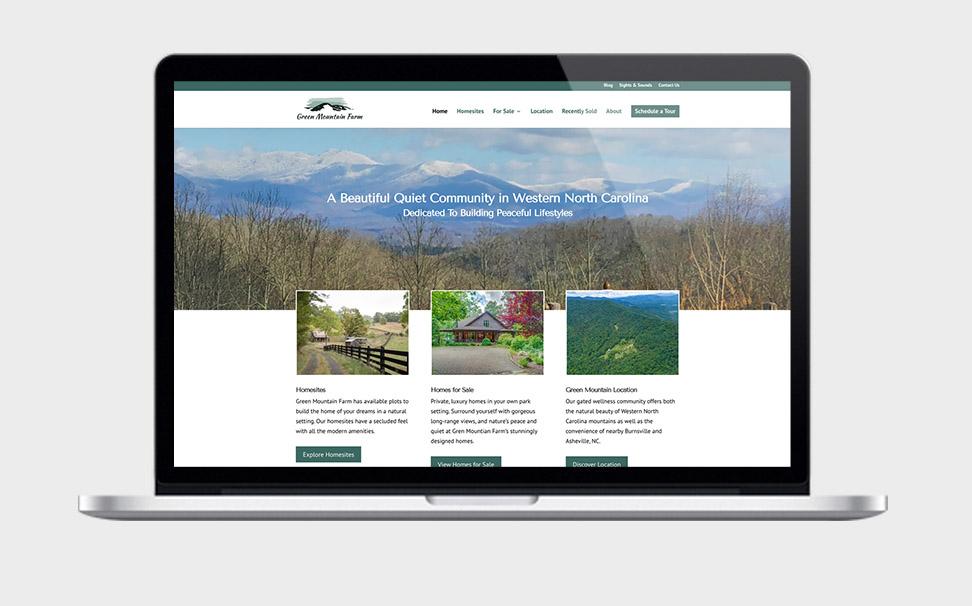 Web Design & SEO For Green Mountain Farm