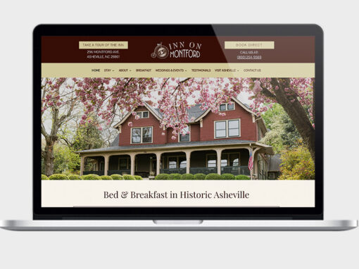 Web Design for Bed & Breakfast