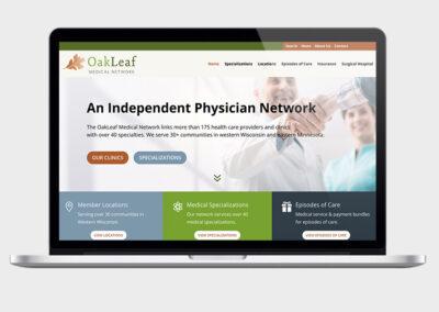 Web Design for Medical Network