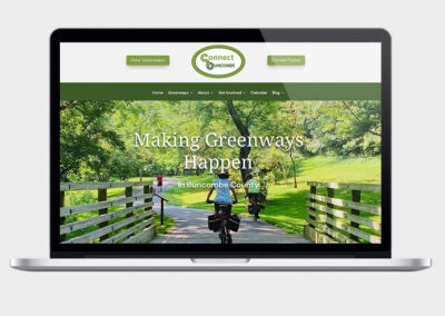 Web Design & SEO for Connect Buncombe Greenways