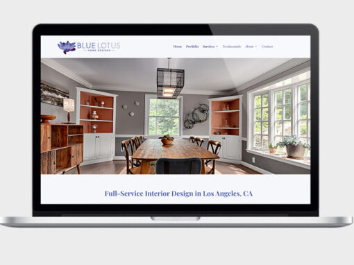 Web Design & SEO for Interior Designer