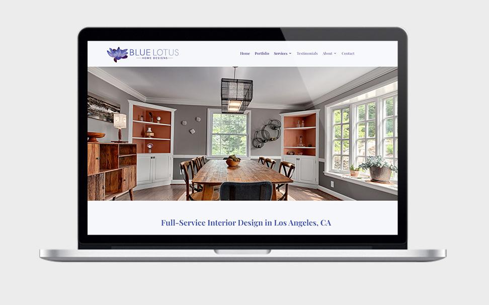 web design for interior designer